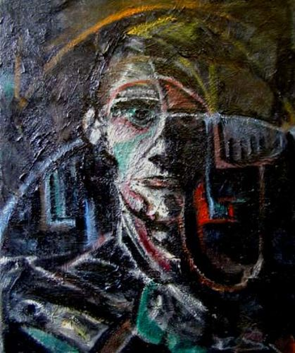 Portrait 30 65 x 80 cm oil on canvas